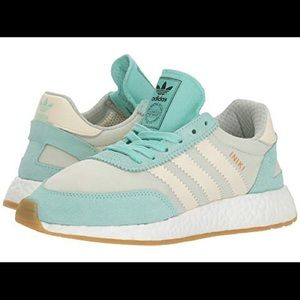 Adidas Iniki Runner in Mint Green women's size 6